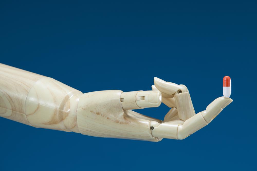 shutterstock Roboter Hand Medizin
