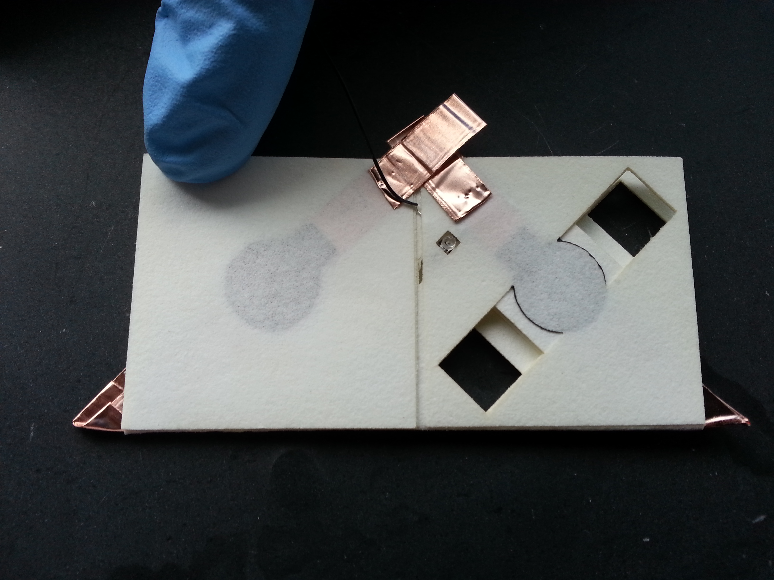 paper based battery could power a mobile diagnostic tool drupa and does not need any external pump or syringes to transport liquid the good news for his biobattery any type of paper can be used as long as the