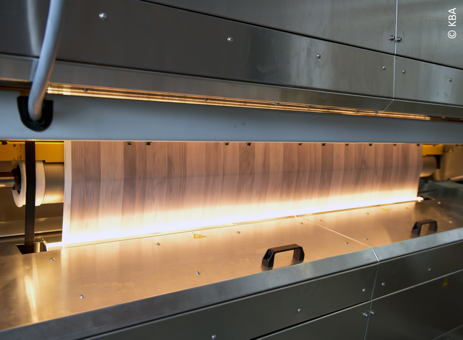 KBA RotaJet 167 printing laminates