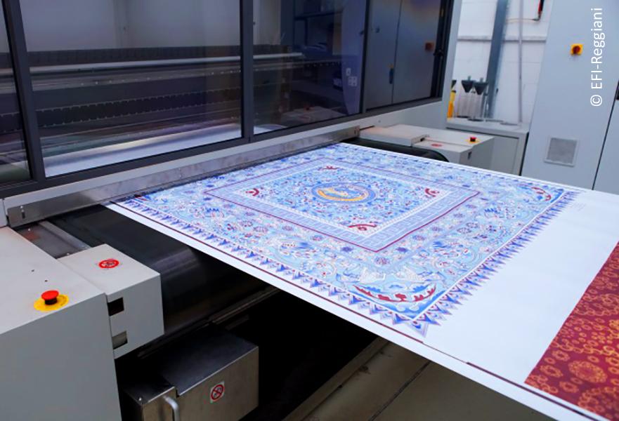 Reggiani Fabric print