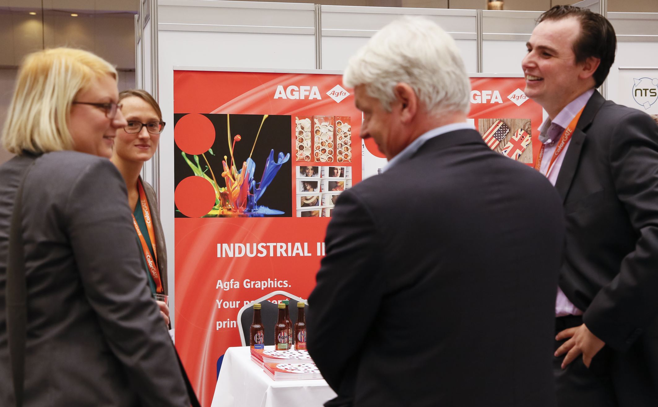 Agfa's booth at TheIJC