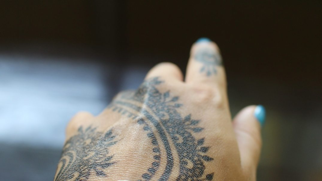 inkjet printed electronic tattoos