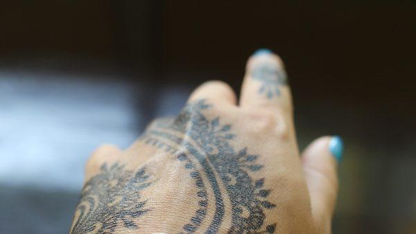 inkjet printed electronic tattoos
