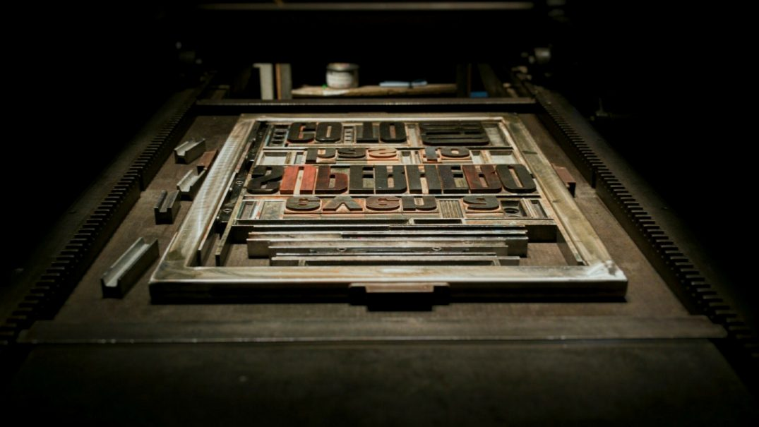 The Double Dagger – Homage to The Venerable Art of Printing