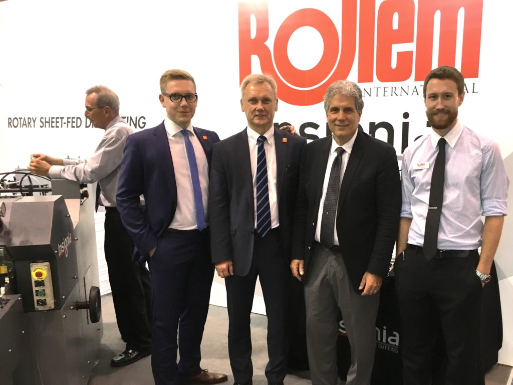 Corwins and Kugaudos at Drupa