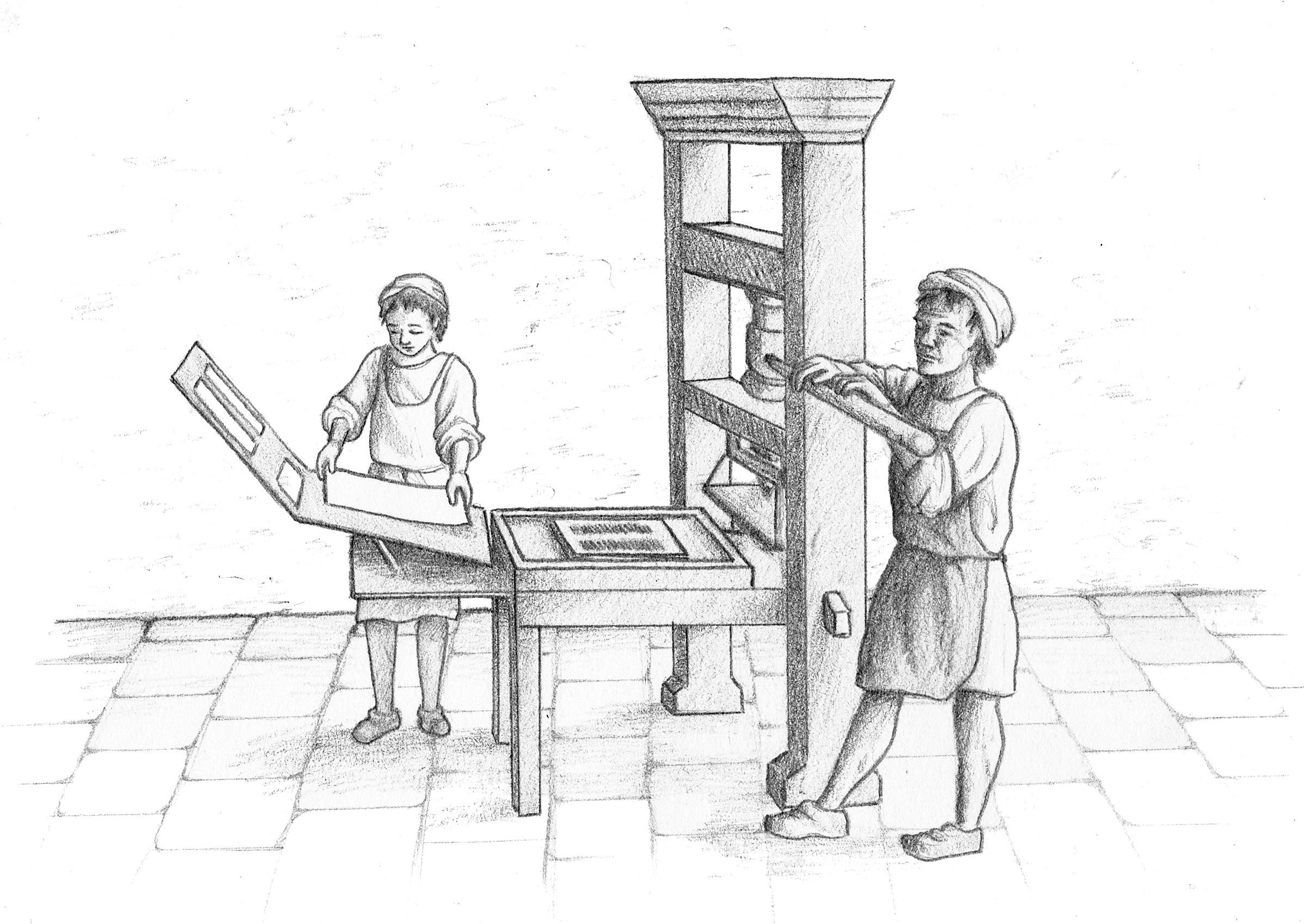 Gastbeitrag] Gutenbergs Erfindungen – Teil 25 Druckpresse   drupa