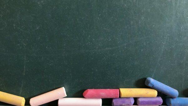 Chalkboard with Chalk Sticks